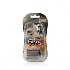 Станок Bic Flex 5 HYBRID (станок + 2 кассеты)