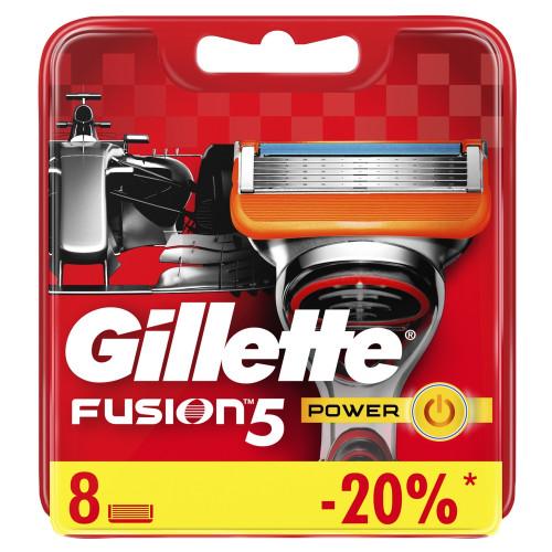 Gillette FUSION Power (8шт) orig