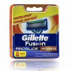 Gillette FUSION Power ProGlide (8шт) RusPack orig