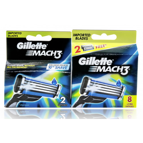 Mach 3 комплект (8шт+2шт) EvroPack orig
