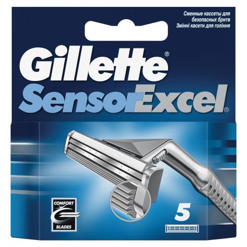 Gillette Sensor Excel (5шт) RusPack orig