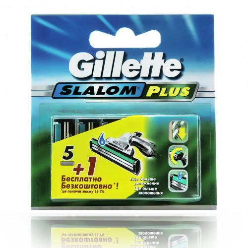 Gillette SLALOM PLUS (5шт) RusPack orig