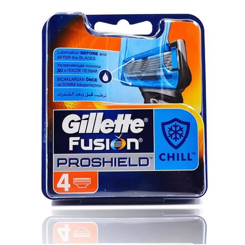 Gillette FUSION Proshield (4шт) EvroPack orig
