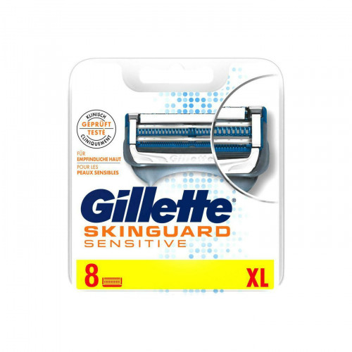 Gillette FUSION SKINGUARD (8шт) EvroPack orig