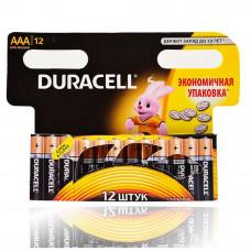 Батарейки Duracell ААA (12шт)