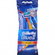 Одноразовые станки GILLETTE BLUE 2 PLUS (3шт)