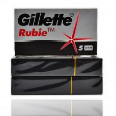 "Классические Лезвия Gillette ""Rubie"" Platinum (1 пачка * 5 лезвий)"