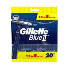 Одноразовые станки GILLETTE BLUE 2 (20шт)